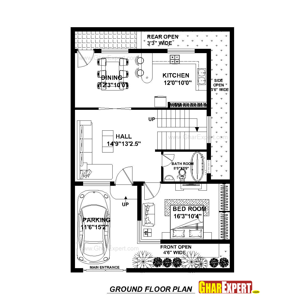 30 ft wide house plans 28 images 30 wide house plans for Wide ranch house plans