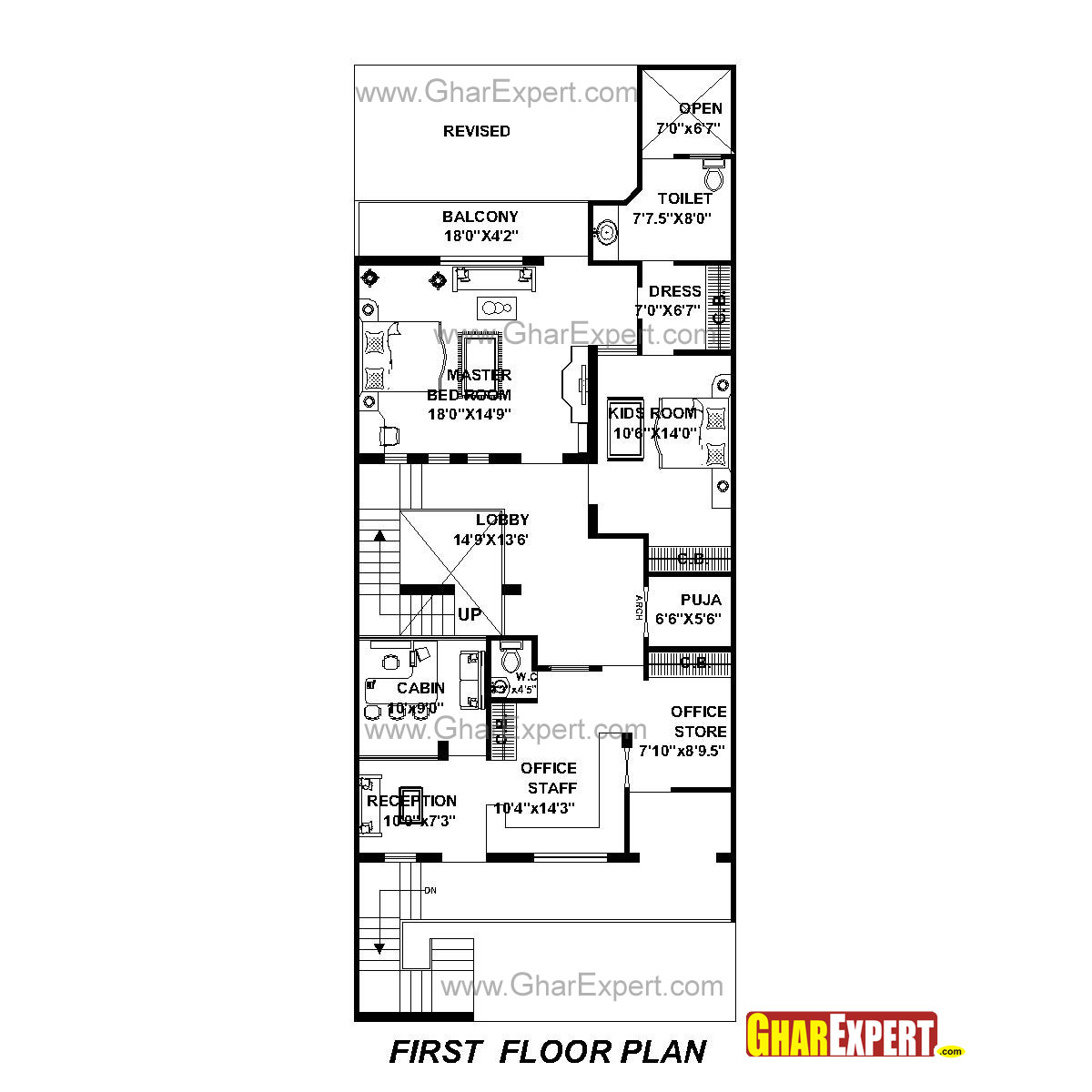 house plan for 30 feet by 76 feet plot  plot size 253 square yards