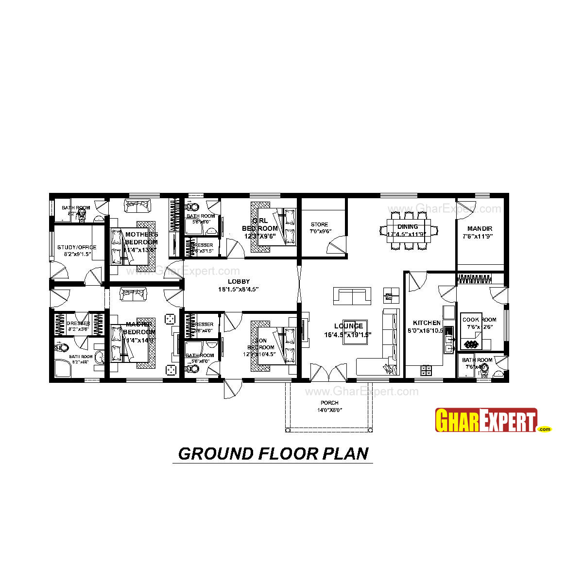 house plan for 74 feet by 31 feet plot  plot size 255
