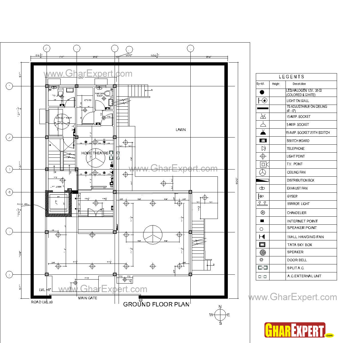 Sample Architectural Structure Plumbing And Electrical Drawings Wiring Diagrams