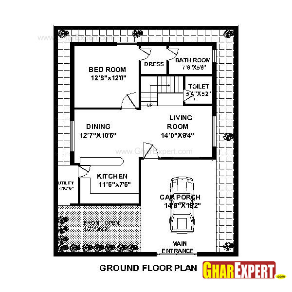 Home Design  Sq Feet Plot