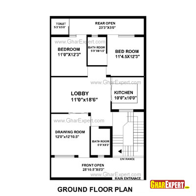 House Plan For 60 Feet By 39 Feet Plot Plot Size 260