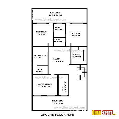 House Plan For 40 Feet By 70 Feet Plot Plot Size 311