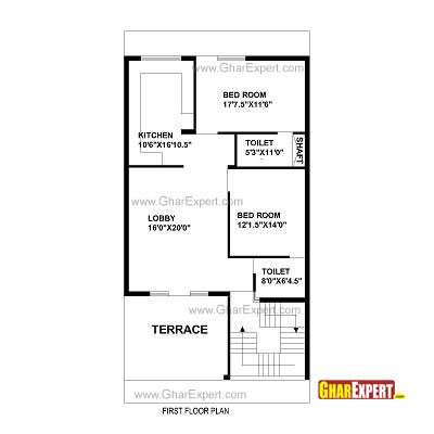 Plan For 30 Feet By 60 Feet Plot  Plot Size 200 Square Yards  Plan Code 1310 on 1800 square foot house plans