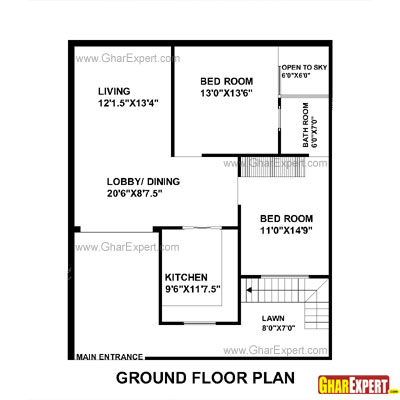Tamil nadu house plan 1000sqf joy studio design gallery for Tamil nadu house plan