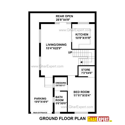 House map design 30 x 30 images 30 by 45 house plans
