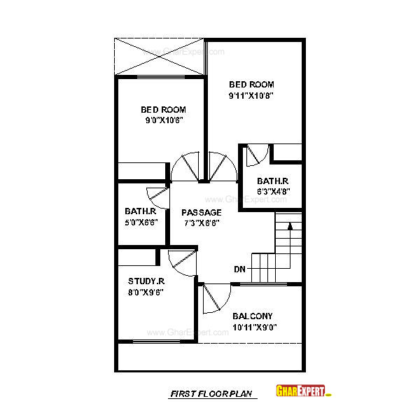 House plan for 20 feet by 45 feet plot house plan for 20 for House plan for 20 feet by 45 feet plot