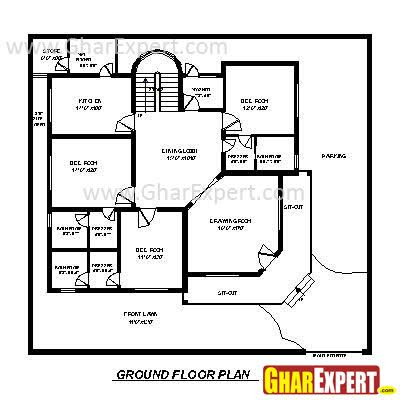House Plan For 60 Feet By 50 Feet Plot Plot Size 333