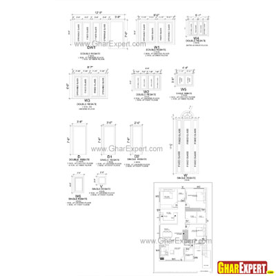 S le Architectural Structure Electrical Plumbing Drawings on house wiring specifications