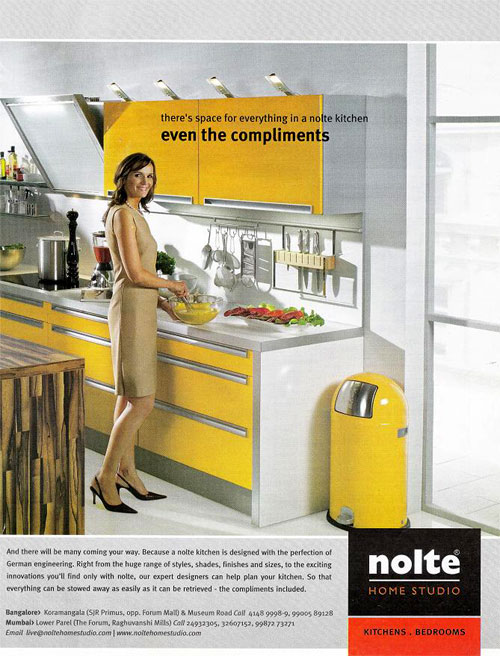 Company:Kitchen:There`s space for everything in a Nolte Kitchen