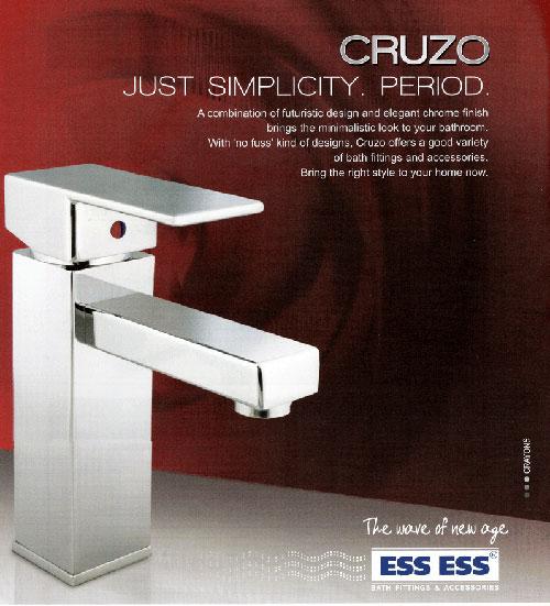 Company:Bathroom Accessories:Cruzo Just Simplicity. Period.