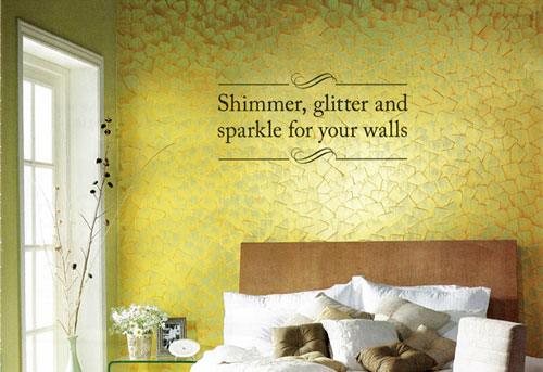 Company : Paint : Royale Play Metallics Shimmer, glitter and sparkle for your walls