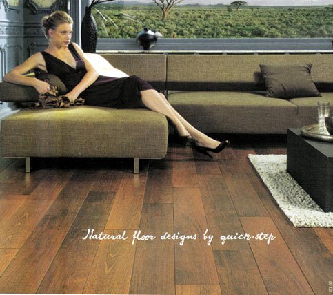 Company : Flooring : Natural Floor Designed by Quick-Step