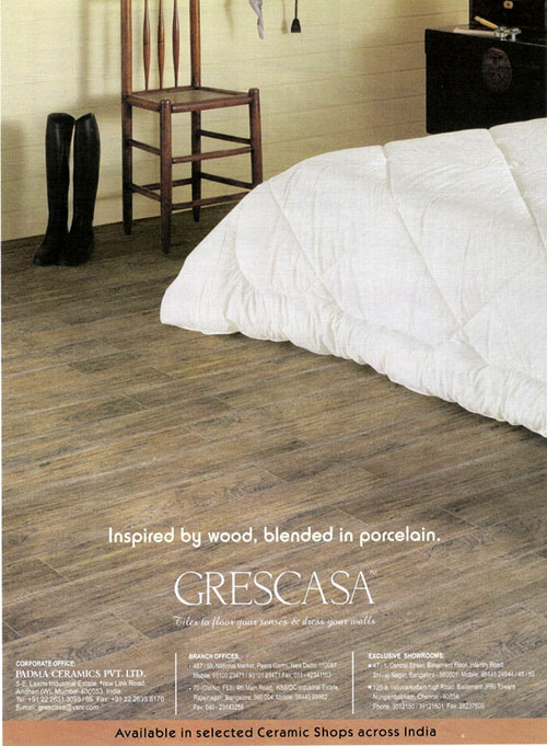 Company:Wooden flooring:Inspired By Wood, Blended in Porcelain