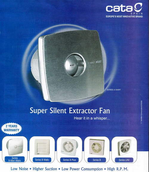 Company : Wiring and Electrical fitting : Super Silent Extractor Fan