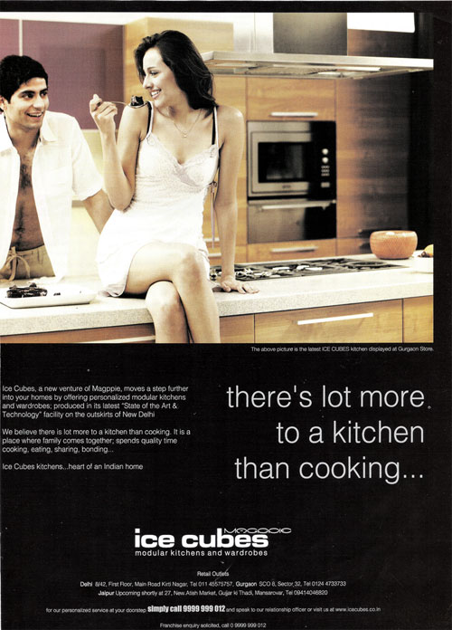 Company : Kitchen : Ice Cubes Modular Kitchens