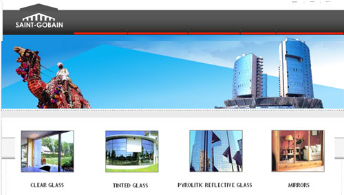 Company : Raw Material : Reflective Glass - SGG REFLECTASOL