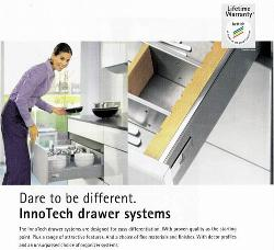 Company : Kitchen : InnoTech drawer systems