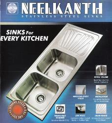 Delhi : Kitchen : Neelkanth Stainless Steel Sinks