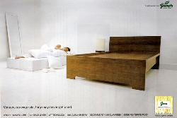 Ghaziabad : Bedroom Furniture : Veneer so exquisite, they may never get used.