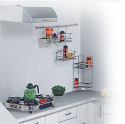 Jaipur&nbsp;:&nbsp;Kitchen&nbsp;:&nbsp;Assess Storage Solutions