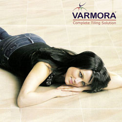 Company : Flooring : Varmora Vitrified Tiles.  Complete Tiling Solution