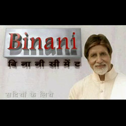 Company : Raw Material : Binani Cement