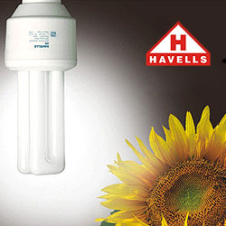 Company : Wiring and Electrical fitting : Havell`s CFL Lights