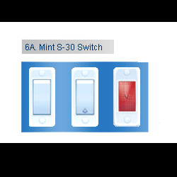 Company : Wiring and Electrical fitting : Mint Series Switches