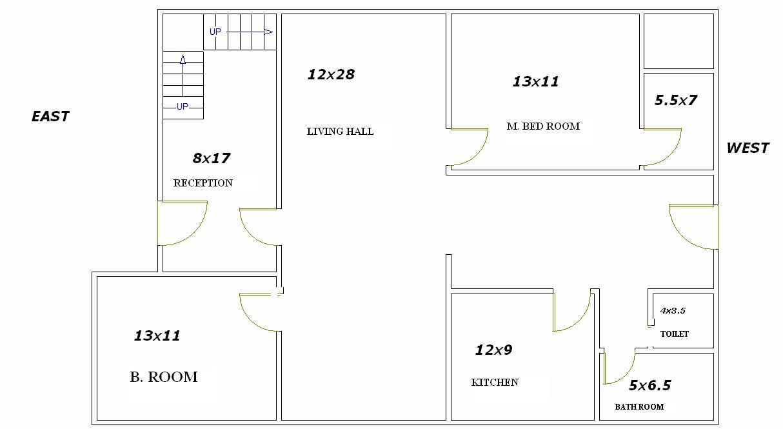 House plan per vastu nice double bedroom house plan per vastu on - Attachments Measurement 45x28 Png On Tue Jan 10 2012 N
