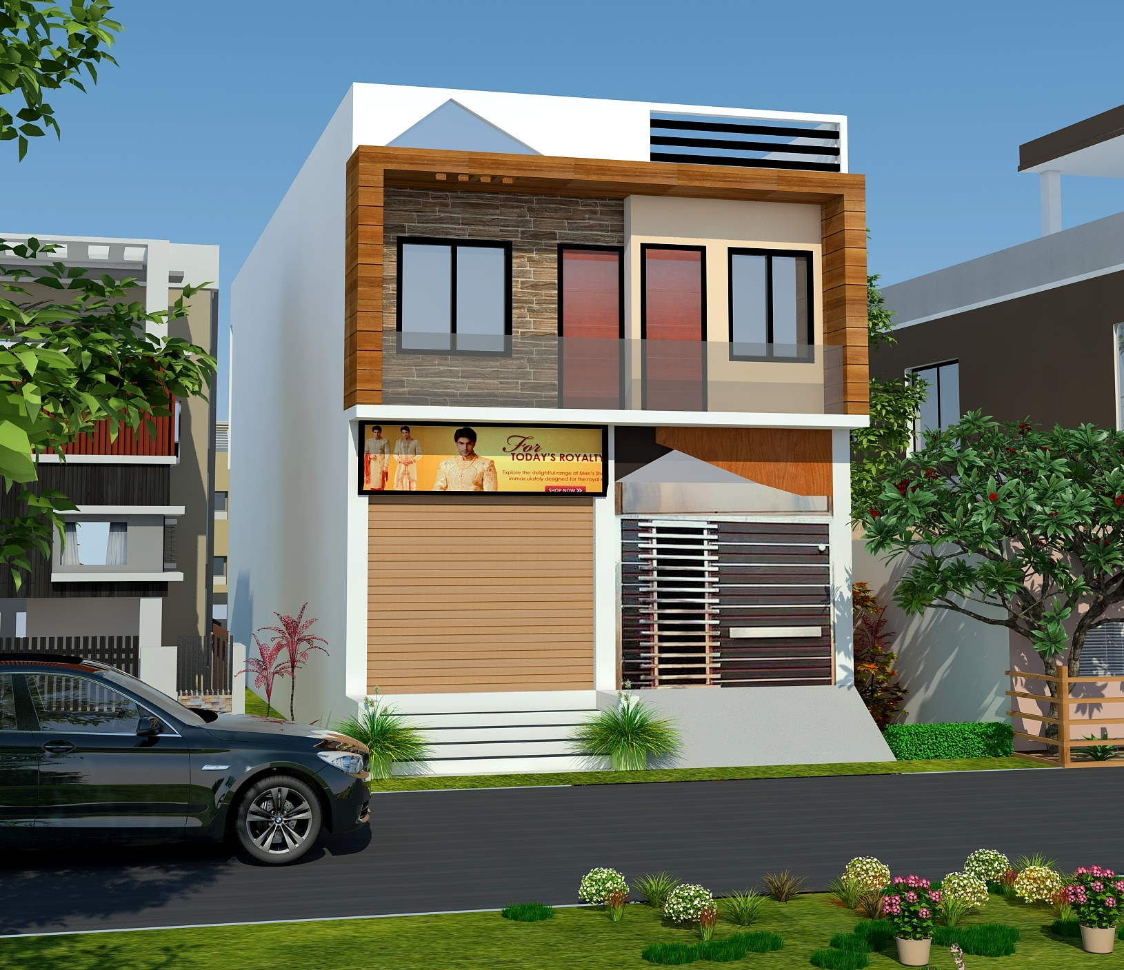 30 Feet Front Elevation Design : I need a plan for south facing house according to vastu