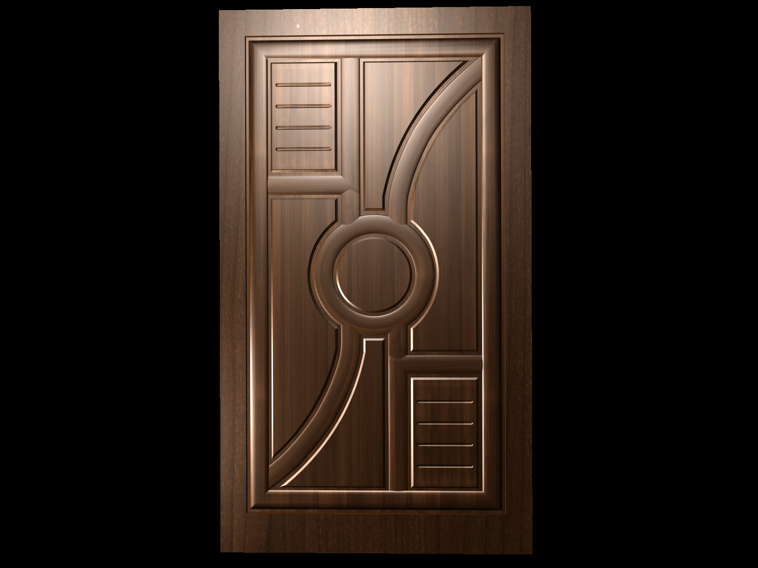 I want idea about main door which is teak wood but simple for Modern wooden main door design