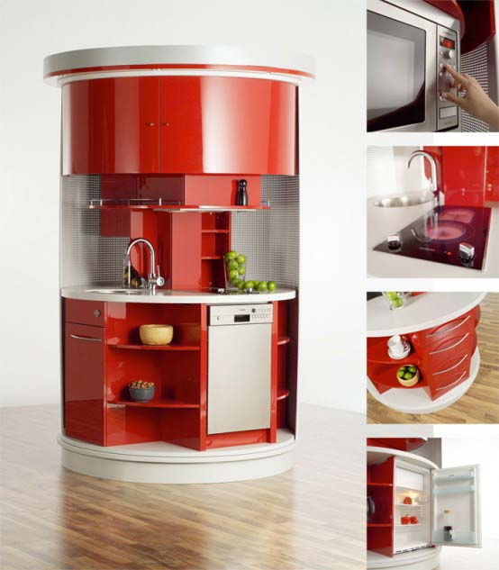 Attachments: Circle Kitchen A Modular Kitchen Concept Design Wed Feb  20, 2013,u0026n