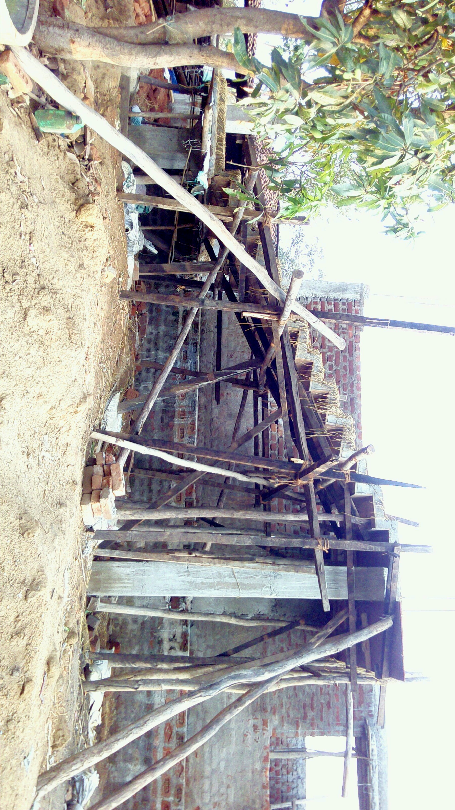 How to renovate the broken staircase. please look the ...