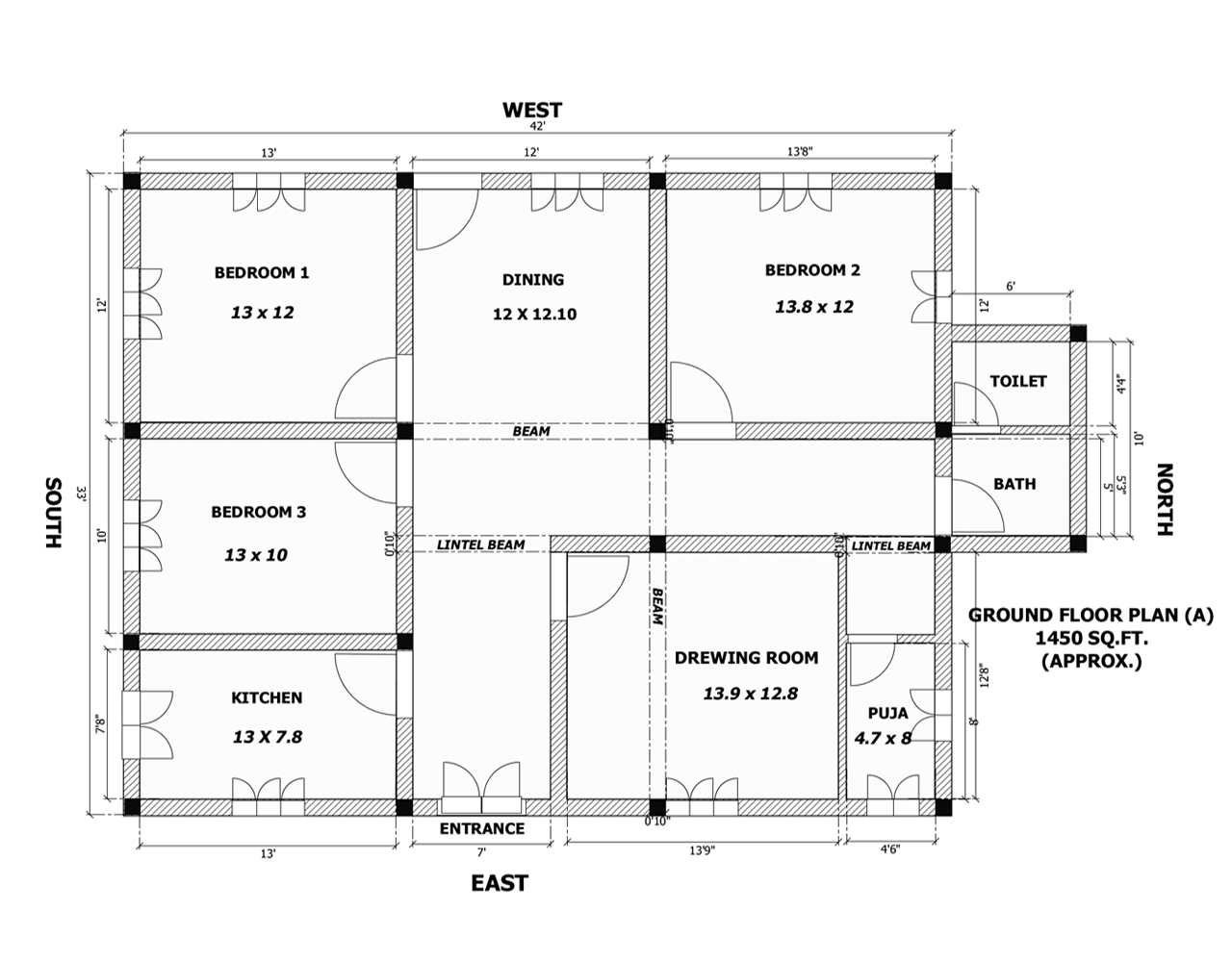Confused between two different floor plan for Different floor plans