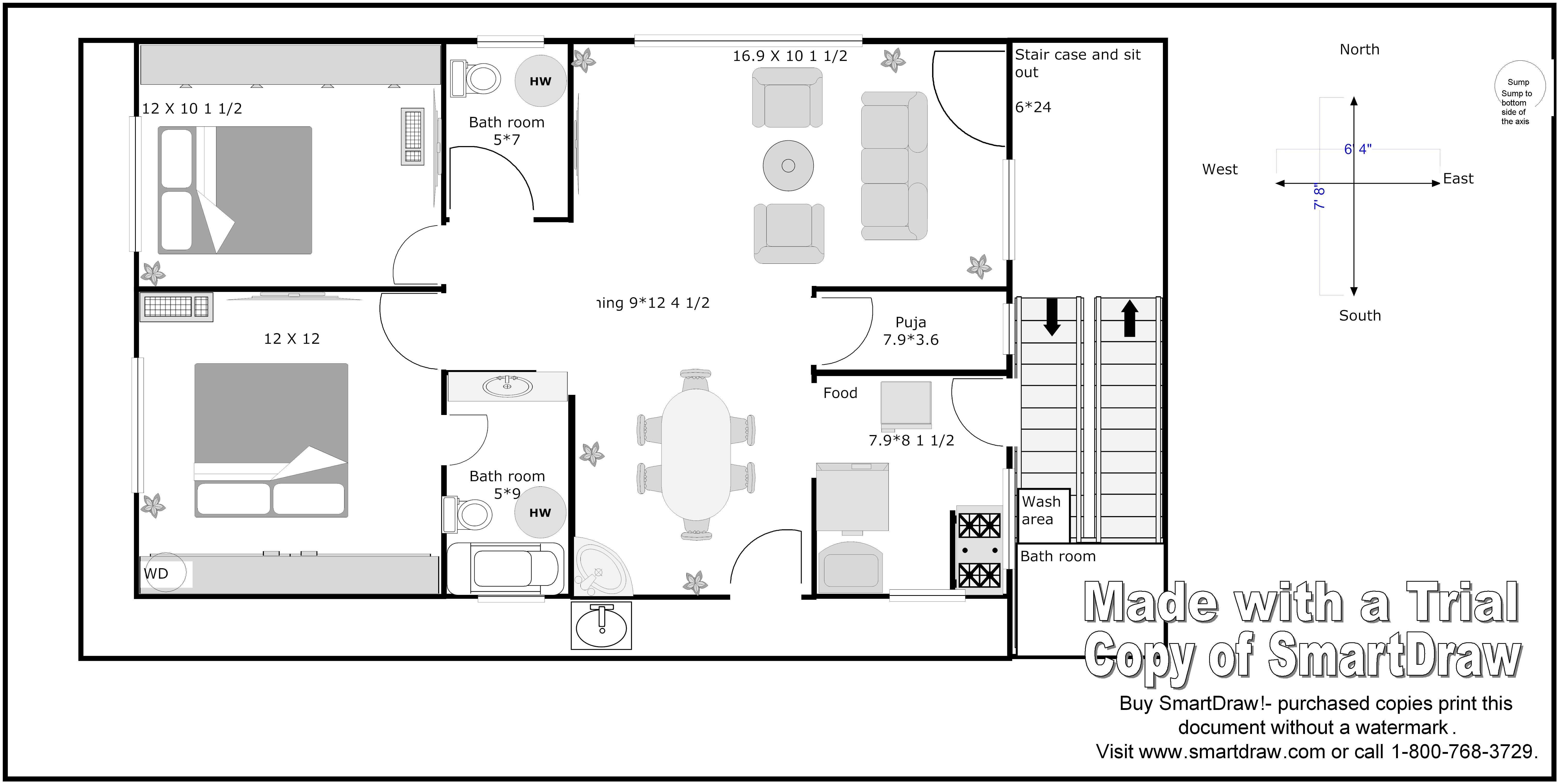 North Facing House Vastu Plan http://www.gharexpert.com/Forum/Nood-in-vastu-Correct-suggestmy-house-plan/