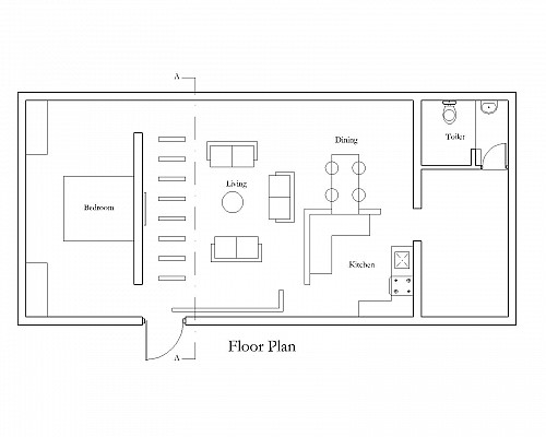 To build house in a plot size 30X40 Ground floor of self use and – Plot Plan And Site Plan