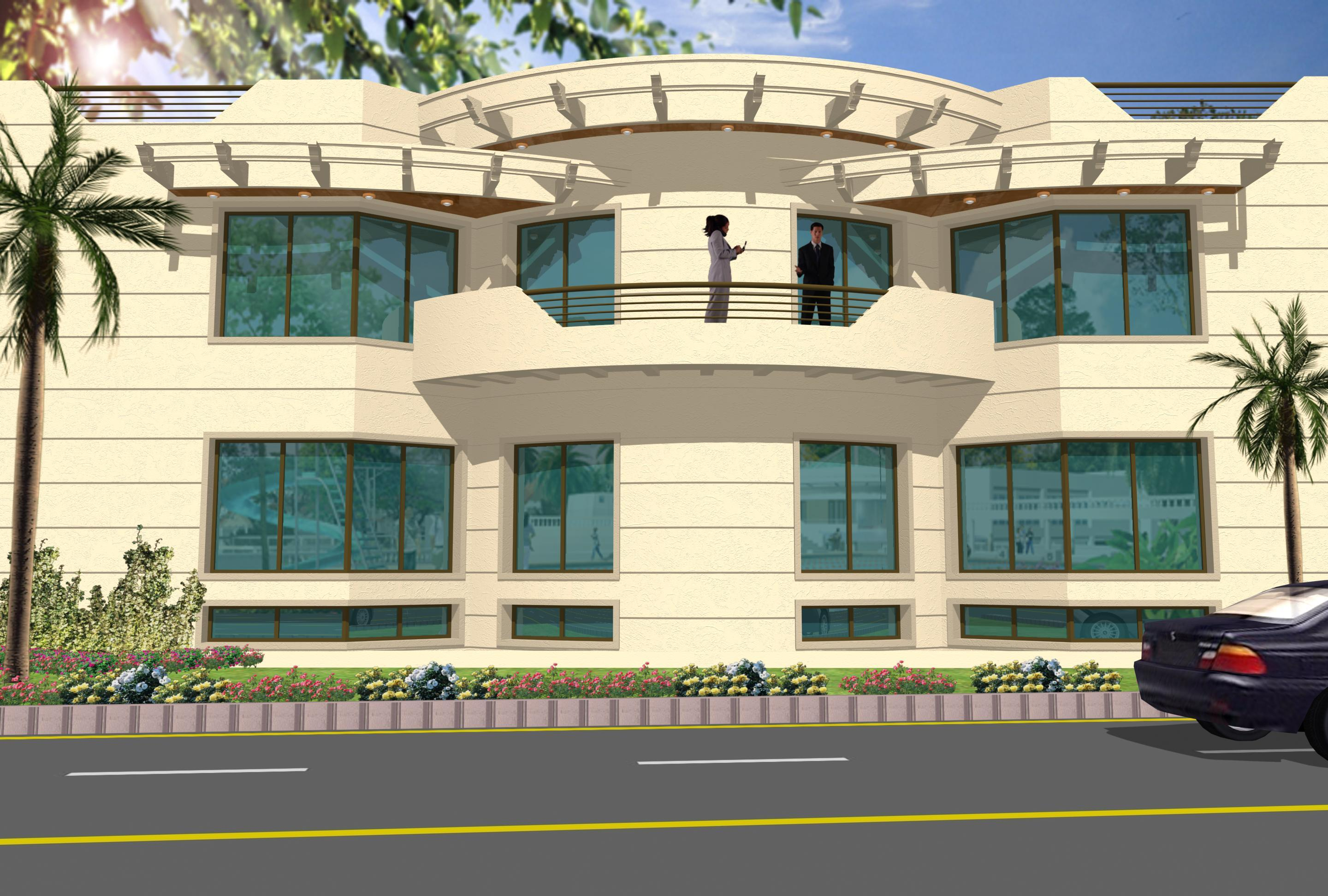 3d building elevation homedesignpictures 3d house building