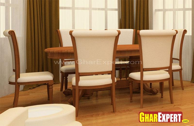 Dining Table Design GharExpert : 10142011115935 from gharexpert.com size 800 x 519 jpeg 55kB