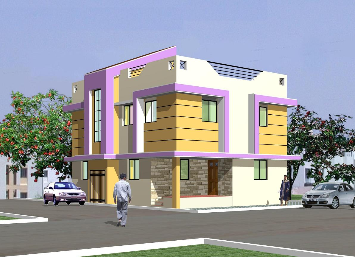 Front elevation of bunglow joy studio design gallery for Small house elevation in india