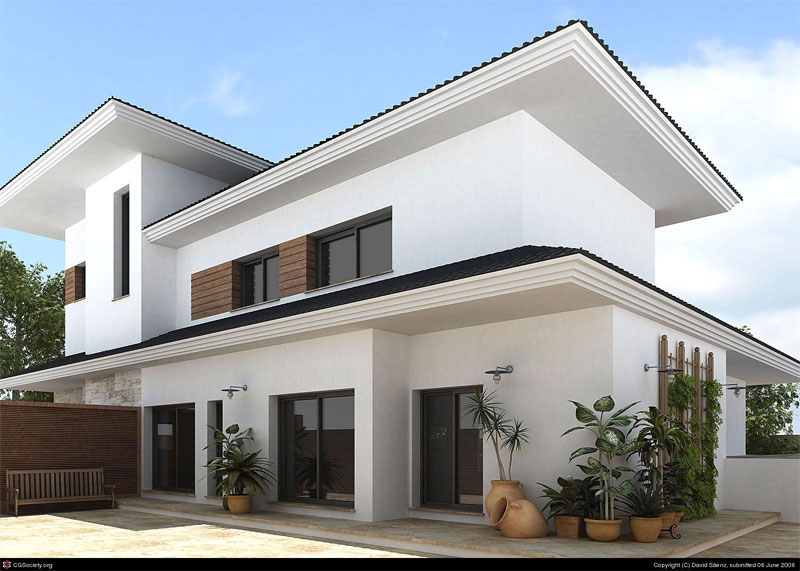 Exterior elevation my best choice gharexpert for Home design application