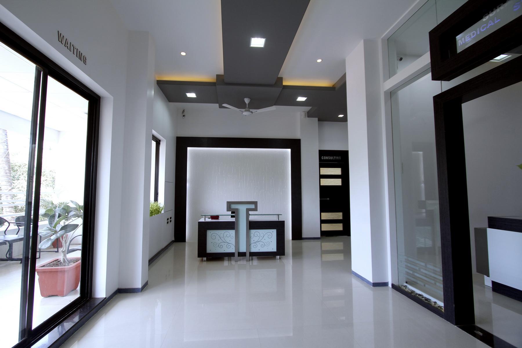 Skin care clinic-Reception are....