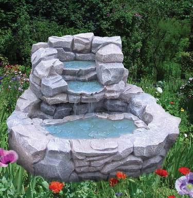 bird birth fountain