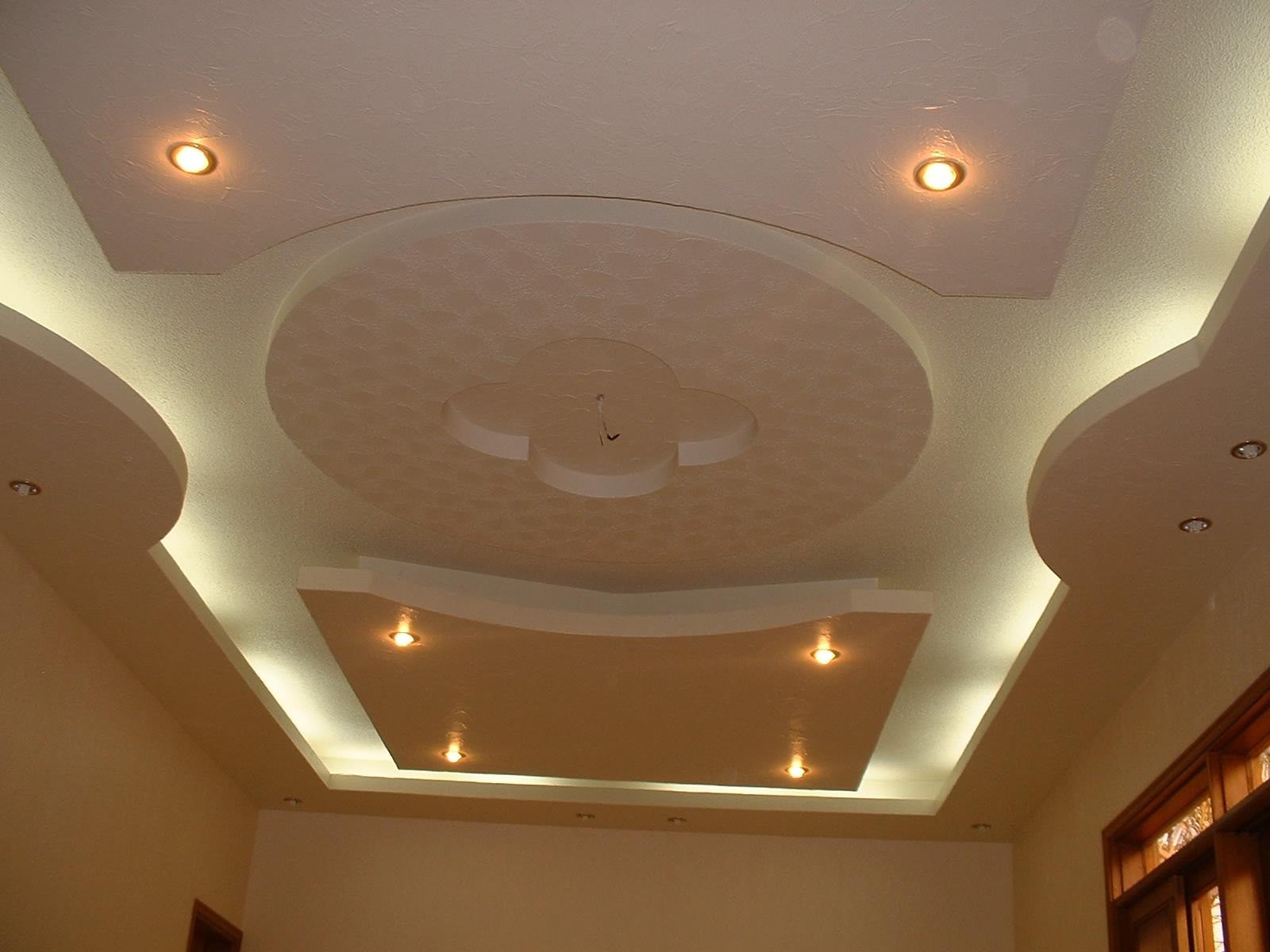 Pop ceiling with ceiling fans and lighting gharexpert - Pop design in ceiling photo ...