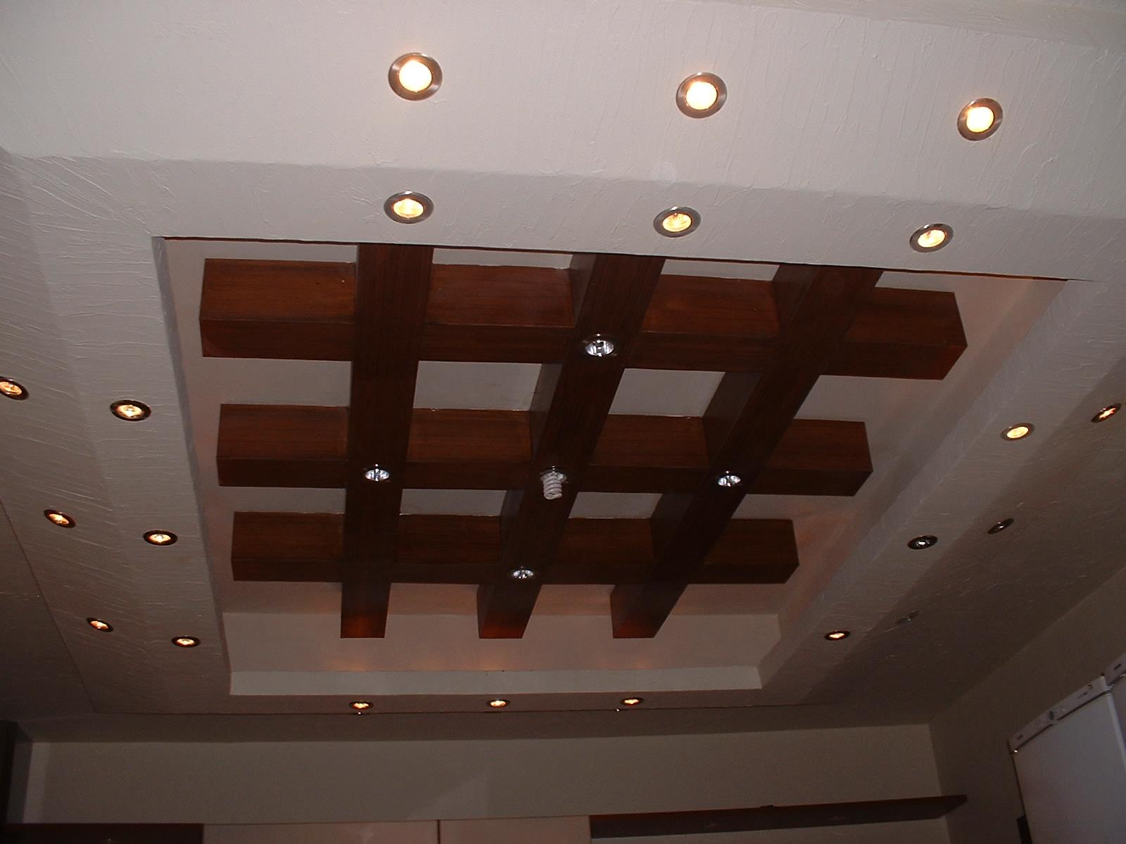 What is the recommended method for fixing wooden board ceiling ...