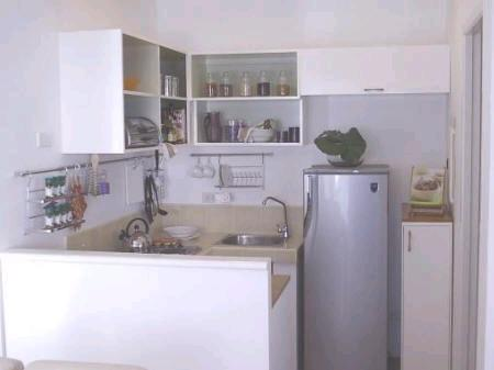 Small space kitchen design gharexpert for Small bathroom designs bangalore