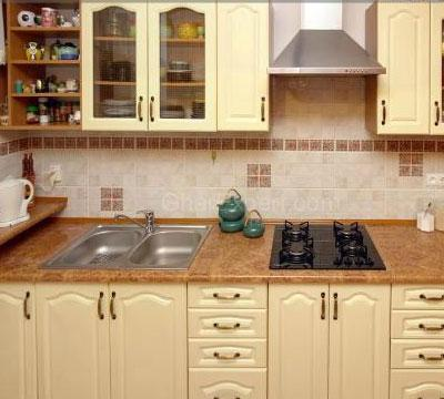 Kitchen cabinets color and des....