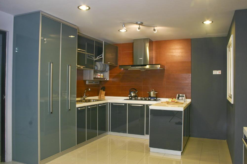 U Shaped Modular Kitchen Design Luxury Cabinet Gharexpert