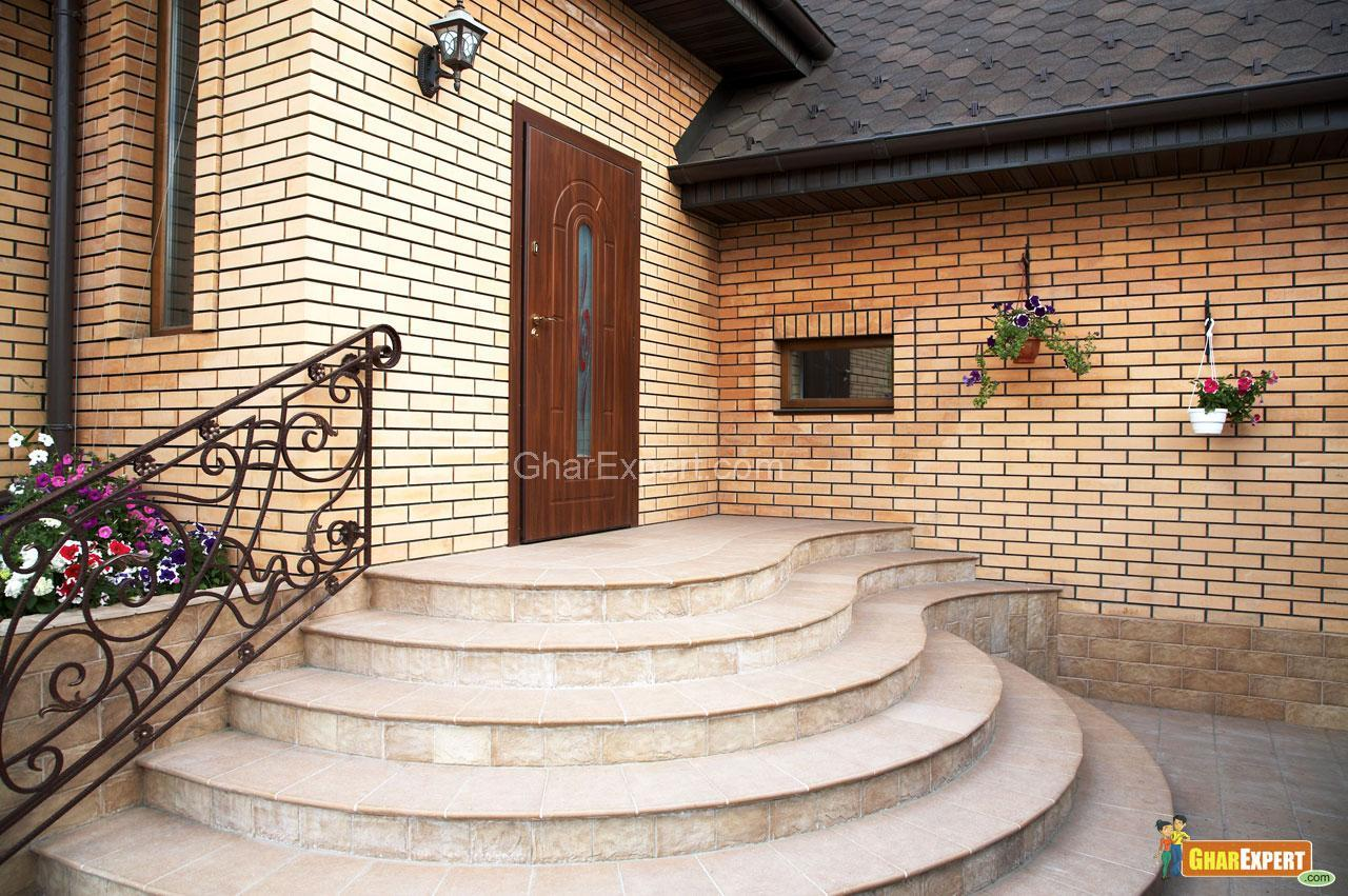 Front Wall Design In Indian House Photo Gallery Pictures to pin on ...