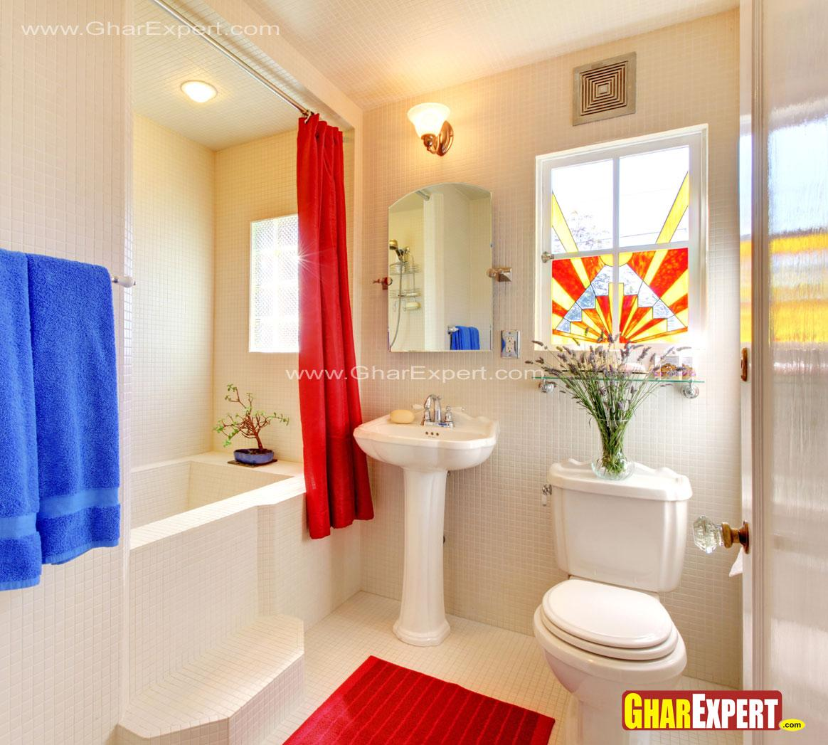 12 by 9 ft spacious bathroom w....